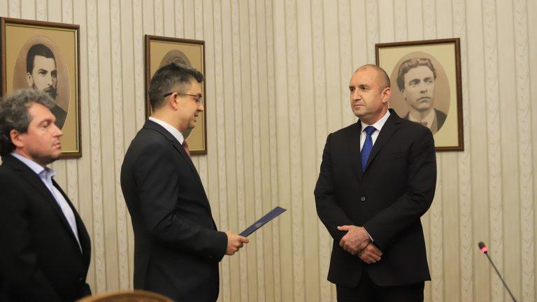 На мястото на Момчил Иванов като правосъден министър е издигнат депутатът Иво Атанасов