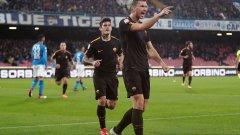 Джеко с два гола за успеха на Рома