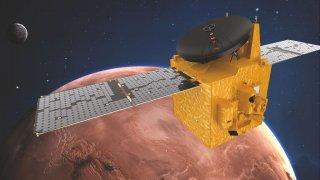 OAE стана петата космическа сила, която изпраща успешно своя мисия до Червената планета