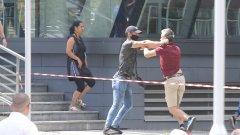 Няколко видеа в социалната мрежа показват нападенията