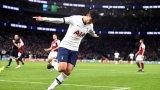 Хьон-Мин Сон с феноменален гол срещу Бърнли (ВИДЕО)