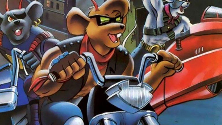 """""""Мишки рокери от Марс"""" (Biker Mice from Mars)  Нещо по-неангажиращо за финал, което е перфектно, за да запали и детето ви (или племеник, братче, сестриче) по света на моторите. Все пак анимацията направи същото с доста деца през 90-те години. В центъра на историята са Тротъл, Модо и Вини - три антропоморфни и мускулести мишки, които от родната си планета Марс се озовават на Земята, за да я защитават от големия си извънземен враг. И го правят със стил - добре въоръжени и качени на две гуми."""
