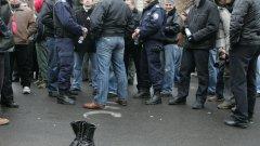 На 20 март пред Народния театър - данъчни и полицаи на общ протест