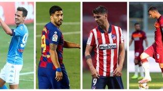 Трансферна въртележка на нападатели: Суарес отива в Атлетико, Мората се завръща в Ювентус