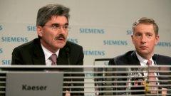 Концернът Siemens не само успя да преодолее скандала с подкупите, по който плати рекордна глоба от над 1 млрд. долара, но и успешно се преструктурира при кризата