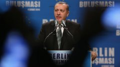 """""""Ей, Европейски съюз, ние не се интересуваме какво мислите, запазете за вас вашите мисли"""", каза турският президент Реджеп Ердоган във връзка с изказвания на европейските лидери, че Турция е извършила """"геноцид"""" над арменците"""