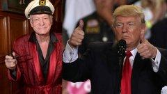Разликите между покойният издател и президента на САЩ са също толкова показателни, колкото и сходствата.