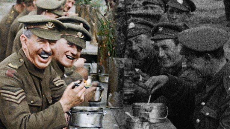 """""""Те не ще остареят"""" (They Shall Not Grow Old) Жанр: документален Година: 2018  Харесахте ли """"1917""""? Филмът на Сам Мендес ни разказа една измислена история от Първата световна война - един по-скоро пренебрегван от киното конфликт. Това, което ви предлагаме, е документален поглед към тази война, при това дело на режисьора Питър Джаксън (""""Властелинът на пръстените"""").   Тук разказани са истински истории на войниците - какво са мислели за конфликта, как е преминавал животът на фронта, как са живеели преди войната. Всичко е пресъздадено с помощта на възстановени кадри отпреди над 100 години, които ни напомнят, че има много по-страшни неща от извънредното положение."""