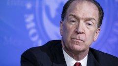 Според президента на Световната банка Дейвид Малпас това ще е необходимо, за да се избегне нова дългова криза