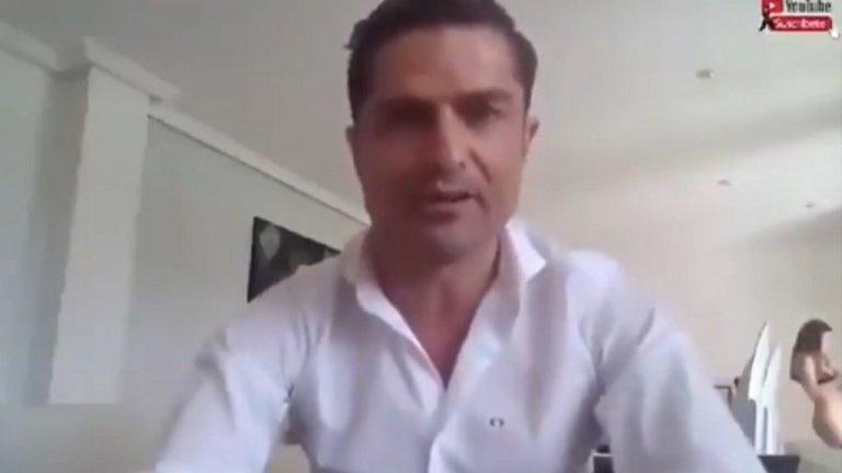 Испанският журналист Алфонсо Мерлос се сблъска с опасностите на включването с видео от дома
