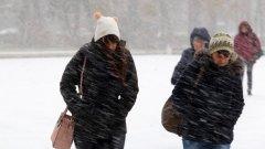 Жълт код за снеговалежи има в 4 области в Северна България