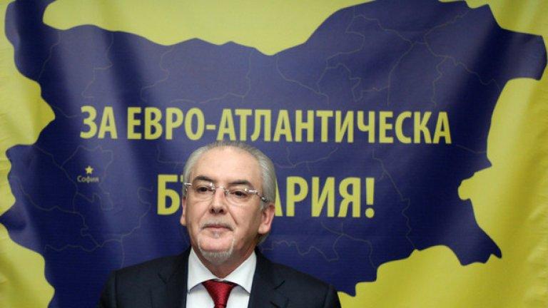 Лютви Местан при учредяването на партия ДОСТ
