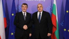 Чешкият премиер обяви подкрепата си за влизането на България в Шенген