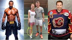 Бокс, тенис, хокей, дори кеч, плажен футбол и волейбол и поло. Футболистите, които се пробваха в други спортове...