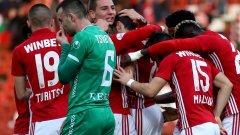 ЦСКА е на пет точки зад Лудогорец и на три пред Левски.