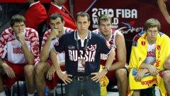 Дейвид Блат е удовлетворен от изявите на руския национален отбор по баскетбол