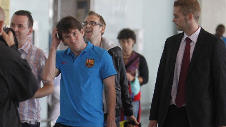 Лео Меси замина за Казан, въпреки че все още няма разрешение за игра