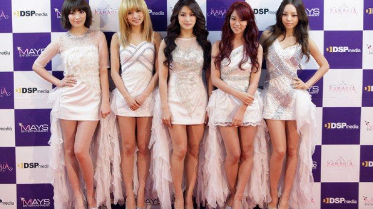 Kara е една от най-големите групи в корейската поп музика