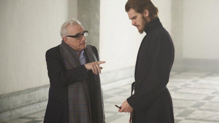 Главният герой с режисьора Скорсезе, който мечтае да заснеме този сюжет десетилетия.