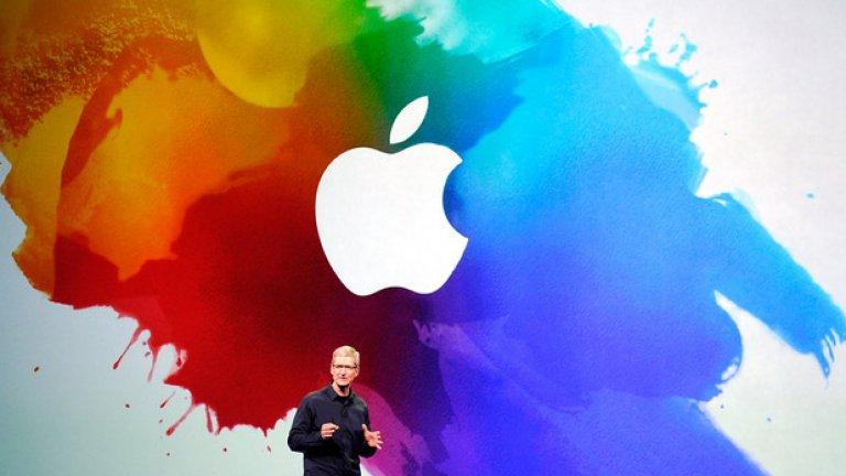 """Apple  Историята гласи, че създателят Стив Джобс много обичал ябълки и точно се бил върнал от ябълкова ферма, когато предложил името – сторило му се, че е """"забавно, духовито и не е смущаващо"""". Той харесвал Apple и защото това име поставяло компанията пред бившия му работодател Atari в телефонния указател. Така в началото компанията се нарича Apple Computers, преди да стане само Apple през 2007 г."""