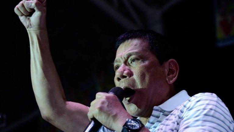 """Президентът, който започна печално известната """"война срещу народилърите"""" иска да последва примера на Русия и да оттегли Филипините от членство в Международния наказателен съд"""