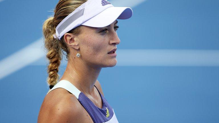 """Кристина Младенович разказа, че дори след като е дала """"30 негативни теста"""", организаторите на US Open са продължавали да взимат проби от нея, а тя се е почувствала като затворник и престъпник."""