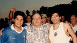 Марадона е заменен от Луи Фиокола. Това е синът на собственика на Торонто Италия, който е извадил парите за цялото шоу и идването на този гигант в Канада.