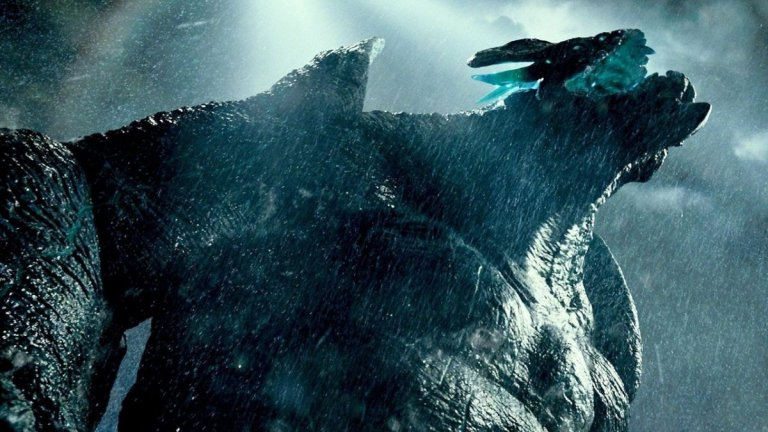 """Кайджу са и чудовищата от филма на Гилермо дел Торо """"Огненият пръстен"""" (Pacific Rim). Филмът разказва как тези създания изпълзяват от портал на дъното на Тихия океан и започват да унищожават градове. За да се бори с тях, човешката раса създава грамадански машини, наречени йегери, които се пилотират от по двама рейнджъри. Огромните чудовища бавно и сигурно водят човешкия свят към Апокалипсис, докато не се намесват двама души, които ще открият как да се преборят с тях."""
