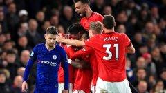 """Изводите след победата на Манчестър Юнайтед над Челси с 2:0 на """"Стамфорд Бридж"""""""