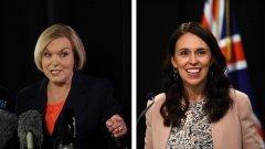 Две бели жени се борят за премиерския пост в Нова Зеландия. Политиката им обаче е тотално различна