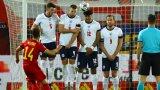 Мертенс бележи втория гол във вратата на англичаните