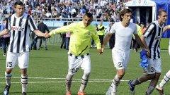 Бардзали, Видал, Пирло и Киелини от Ювентус дружно влязоха в идеалната единайсеторка на сезон 2011/12