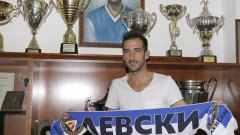 Антонио Аниете се завърна в Левски като свободен агент