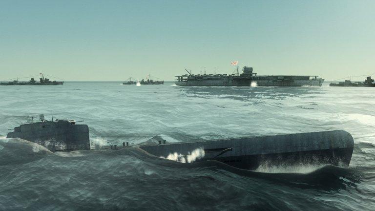 Silent Hunter: Wolves of the Pacific  Това заглавие ще ви докаже, че подводниците далеч не са онези лесни за управление и движещите се почти като вятъра плавателни съдове, каквито виждаме по холивудските продукции. Напротив, този симулатор с наистина впечатляваща 3D графика, ще ви накара да се поизпотите, докато работите върху вашата подводница по време на Втората световна война. Феновете на бойните машини ще се радват да експериментират на разнообразните функционалности, с които тяхната подводница може да разполага, а различните мисии ще ги държат нащрек.   В играта ще преживеете някои от легендарните битки на най-мащабния военен конфликт в човешката история като например битката за Мидуей. Атмосферата и звукът също са на подобаващо ниво и затова за мнозина поредицата Silent Hunter си остава най-добрият и изпипан симулатор на тема подводници.