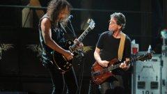 Бандата излезе за първи път с Лу Рийд на концерта за 25-годишнината на Залата на славата на рокендрола в Ню Йорк през 2009 г.
