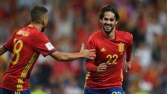 След фурора, който направи при победата с 3:0 над Италия, днес Иско отново се разписа, а испанците логично нямаха проблеми срещу Лихтенщайн