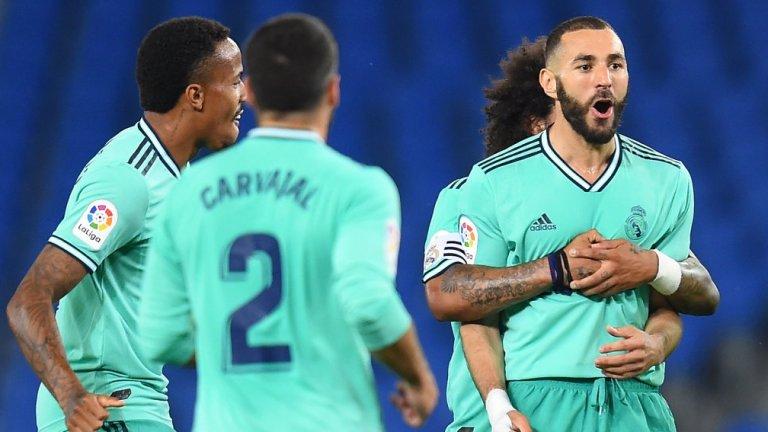 Реал се възползва от грешката на Барса и се изкачи на върха в Ла Лига