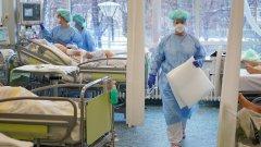 Активните случаи са над 64 хиляди, а от тях над 9 хиляди българи са в болница