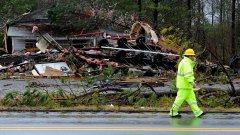 23 души загинаха при тежки бури в Алабама