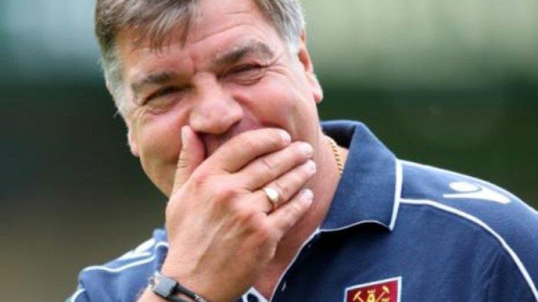 """Жозе Моуриньо го обвини, че """"практикува футбол от 19-ти век"""" в Уес Хем. На Биг Сам обаче е му пукаше."""