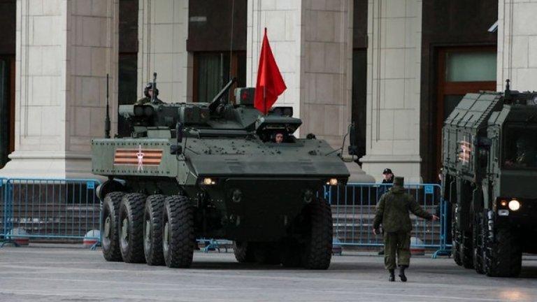 Новата бойна техника ще бъде акцентът на военния парад за Деня на победата