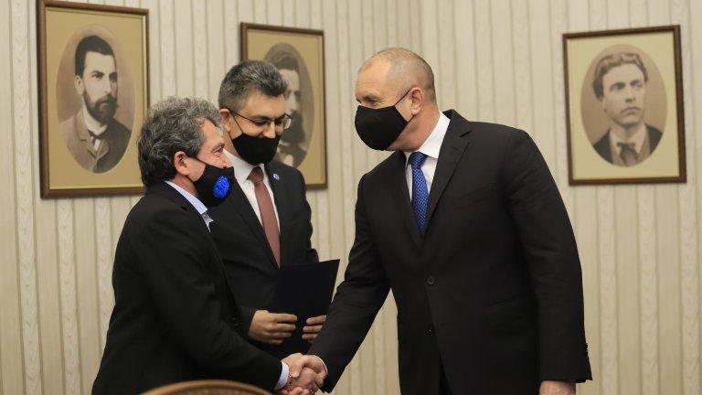 ИТН върна изпълнен мандат на Радев, Петър Илиев ще е вицепремиер
