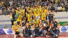 Бразилия записа рекорден девети успех в Световната лига