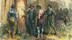 """През 16. век около 100 англичани в САЩ се изпаряват, а след тях остава само надписът """"Кроатоан"""". Той може би обяснява и къде са отишли те"""