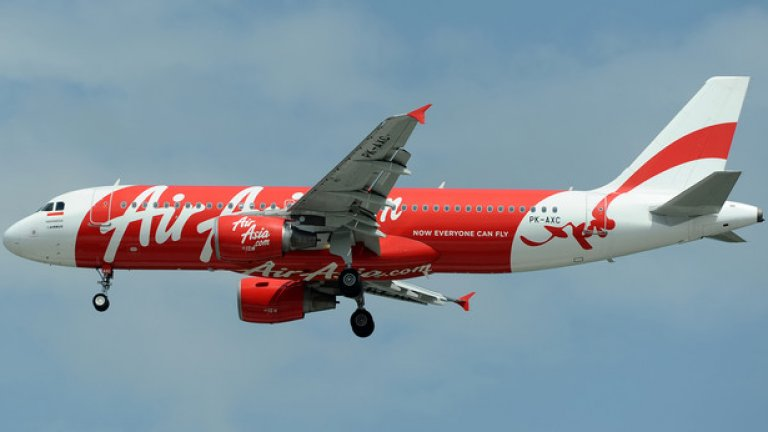 Изчезналият самолет е модел Airbus A320