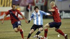 Аржентина и Меси се класираха за Бразилия 2014