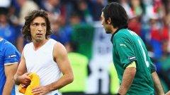 Ветераните Пирло и Буфон играха пълни 570 минути в шестте мача за Италия на Евро 2012