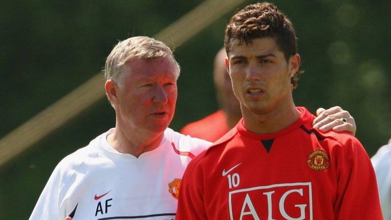 Роналдо пази незабравими спомени от периода си в Манчестър Юнайтед.