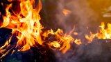 Причината е избухнала газова бутилка, с която пътници са си приготвяли храна