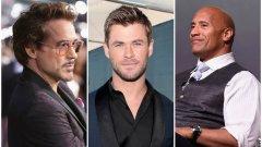 Кой оглави класацията на десетимата най-добре платени актьори ще разберете от галерията: